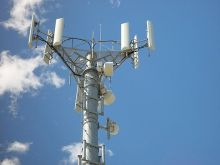 Mobile telephone antenna tower
