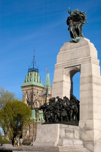 The National War Memorial, Ottawa, Ontario, Canada