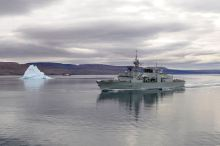 HMCS Montreal near Nanisivik (Nunavut, Canada) from the Department of National Defence and Canadian Armed Forces - picture from NATO Association of Canada